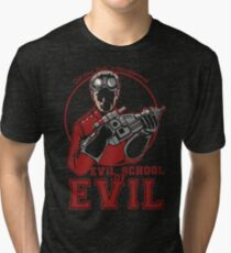 Dr. Horrible's Evil School of Evil Tri-blend T-Shirt