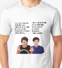 Dan and Phil quotes Unisex T-Shirt