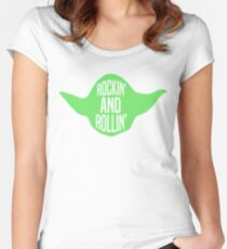 Rockin' and Rollin' Women's Fitted Scoop T-Shirt