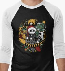 Jack's Christmas Plan Men's Baseball ¾ T-Shirt