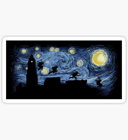 Starry Fight - STICKER Sticker