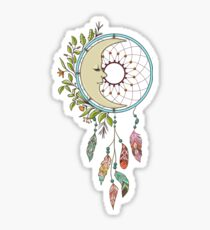 Moon Dreamcatcher Sticker