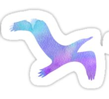 Watercolour birds Sticker