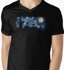 Starry Fight Men's V-Neck T-Shirt