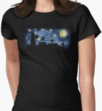Starry Fight Women's Fitted T-Shirt
