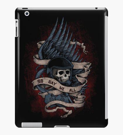 So Say We All iPad Case/Skin