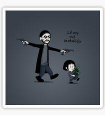 Leon and Mathilda - STICKER Sticker