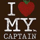 I Love My Captain - STICKER by tyna