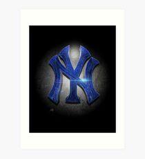 Yankees MOS Art Print