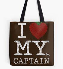 I Love My Captain Tote Bag