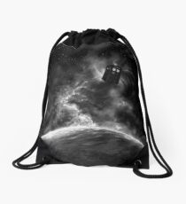 Space and Time Drawstring Bag