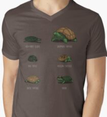 Know Your Turtles Men's V-Neck T-Shirt