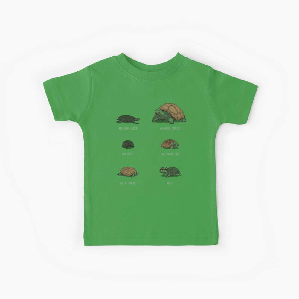 Know Your Turtles Kids T-Shirt