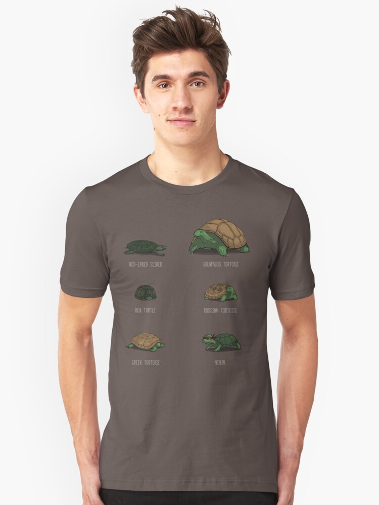 Know Your Turtles Unisex T-Shirt Front