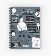 Horrible Quotes Spiral Notebook