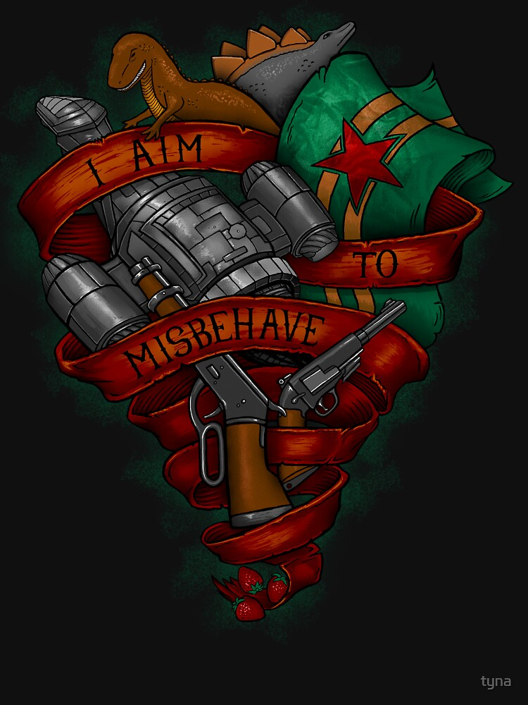 I Aim To Misbehave by tyna