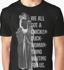 Chicken-Duck-Woman-Thing Graphic T-Shirt