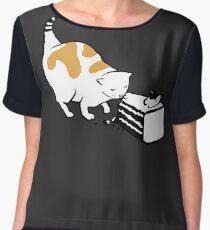 Science Cat STICKER Chiffon Top