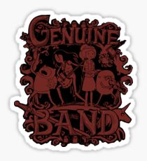 Genuine Band STICKER Sticker