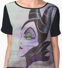Maleficent Women's Chiffon Top