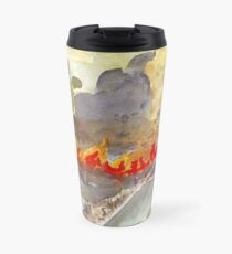 Veldfire in Magaliesburg Travel Mug
