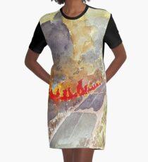 Veldfire in Magaliesburg Graphic T-Shirt Dress