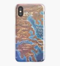 Map of Ancient Greece iPhone Case/Skin