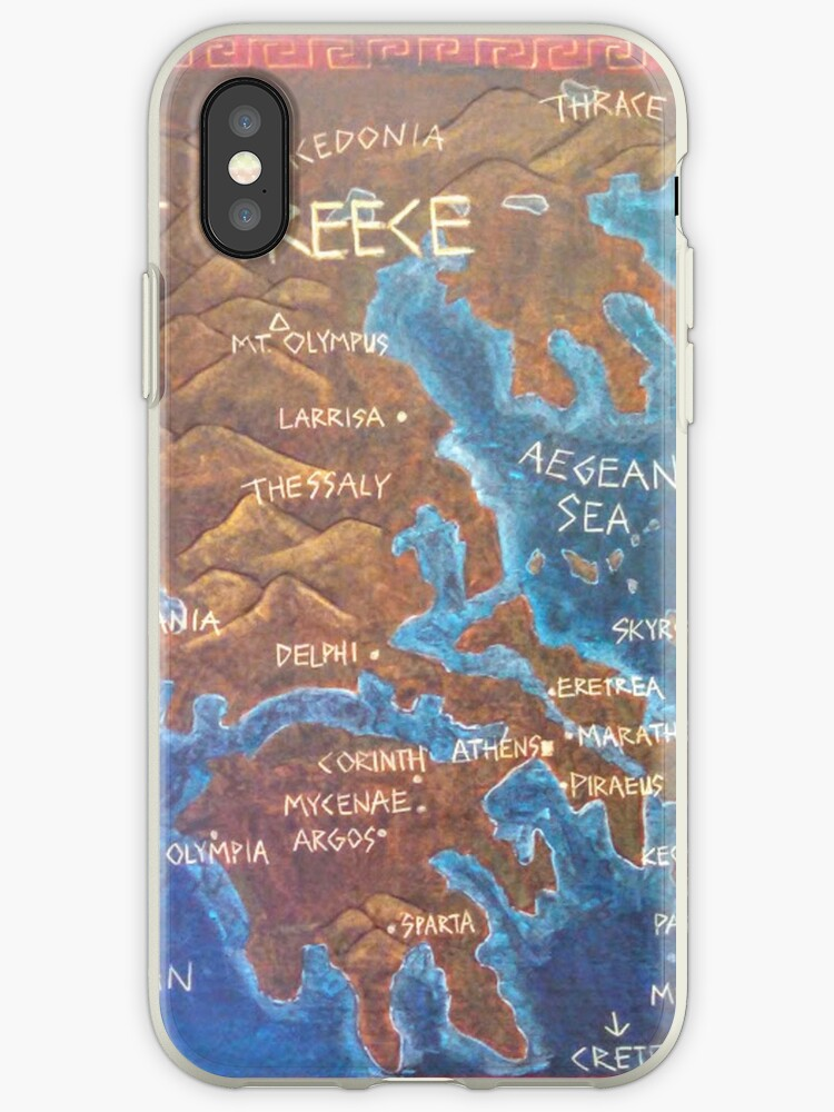 'Map of Ancient Greece' iPhone Case by brusling Map Ancient Greece on romans map, athens map, mediterranean sea map, alexander the great, greek alphabet, egypt map, peloponnesian war, greek mythology, italy map, rome map, babylon map, persian empire map, achaemenid empire map, ancient byzantium, trojan war, middle ages, mycenae on map, ancient greek, persia map, battle of marathon map, mesopotamia map, ancient rome, ancient egypt, peloponnesian war map, ancient macedonia, byzantine empire, roman empire, greek map, thebes map,
