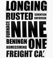 Trigger words Poster