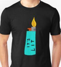 IT'S LIT (blue) Unisex T-Shirt