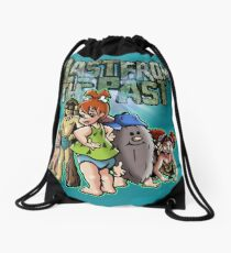 Blast From The Past Drawstring Bag
