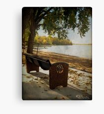 Come Sit by the Lake Canvas Print