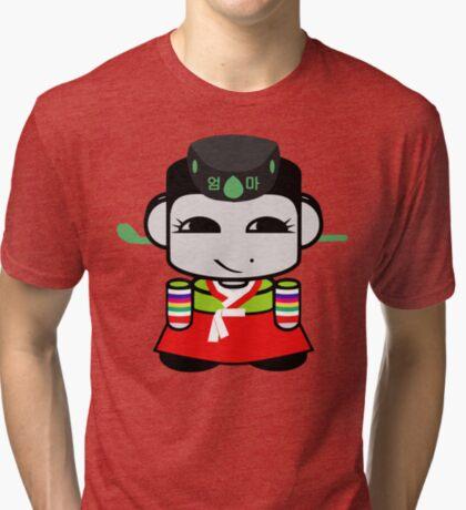 Umma Korean Geo'bot 1.0 Tri-blend T-Shirt