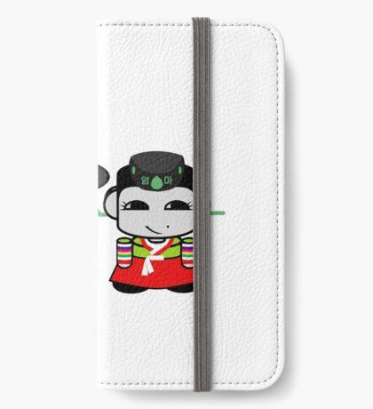 Appa & Umma Korean Geo'bot 1.0 iPhone Wallet