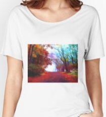 Autumn Forest Women's Relaxed Fit T-Shirt
