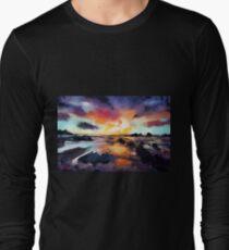 Sunset Seascape Long Sleeve T-Shirt