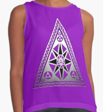 Mystical Triangle Contrast Tank