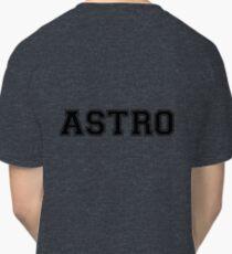 ASTRO Black lettering Classic T-Shirt