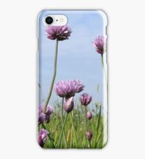Chives reach the sky iPhone Case/Skin