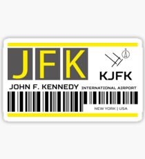Destination New York JFK Airport Sticker
