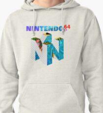 Vaporwave Nintendo 64 Pullover Hoodie