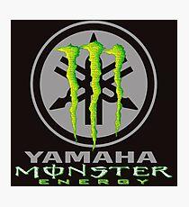 racing yamaha Photographic Print