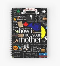 how I met your mother Spiral Notebook
