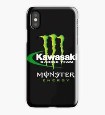 kawasaki racing iPhone Case/Skin