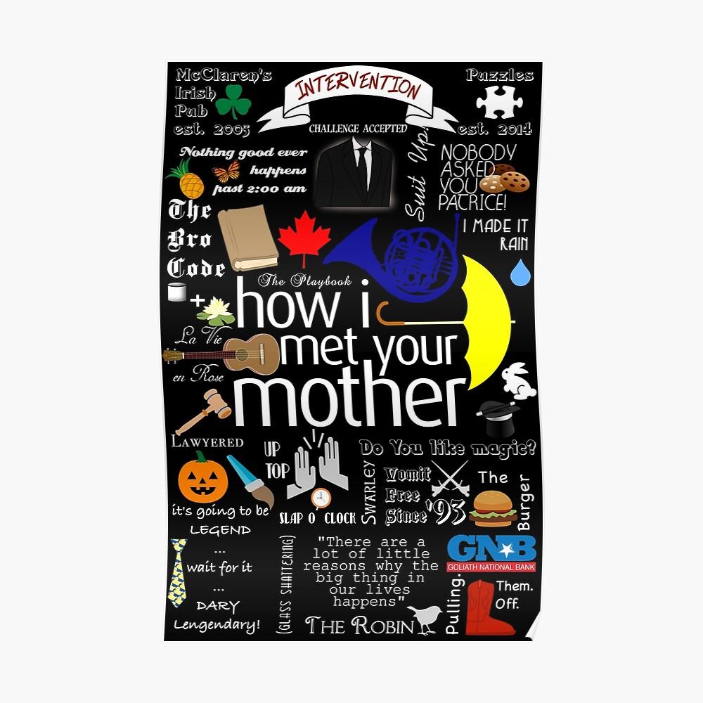 wie ich deine Mutter traf Poster