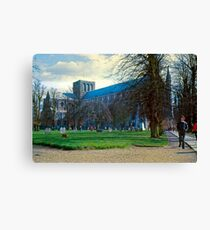 Winchester in Mid-Winter Canvas Print