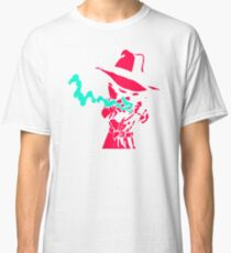Smoke Calvin And Hobbes Classic T-Shirt