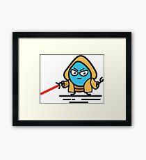 Drupal Jedi Framed Print
