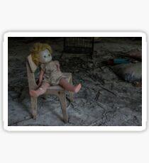 Chernobyl pripyat doll  Sticker