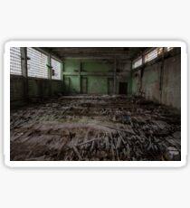 chernobyl pripyat gym  Sticker